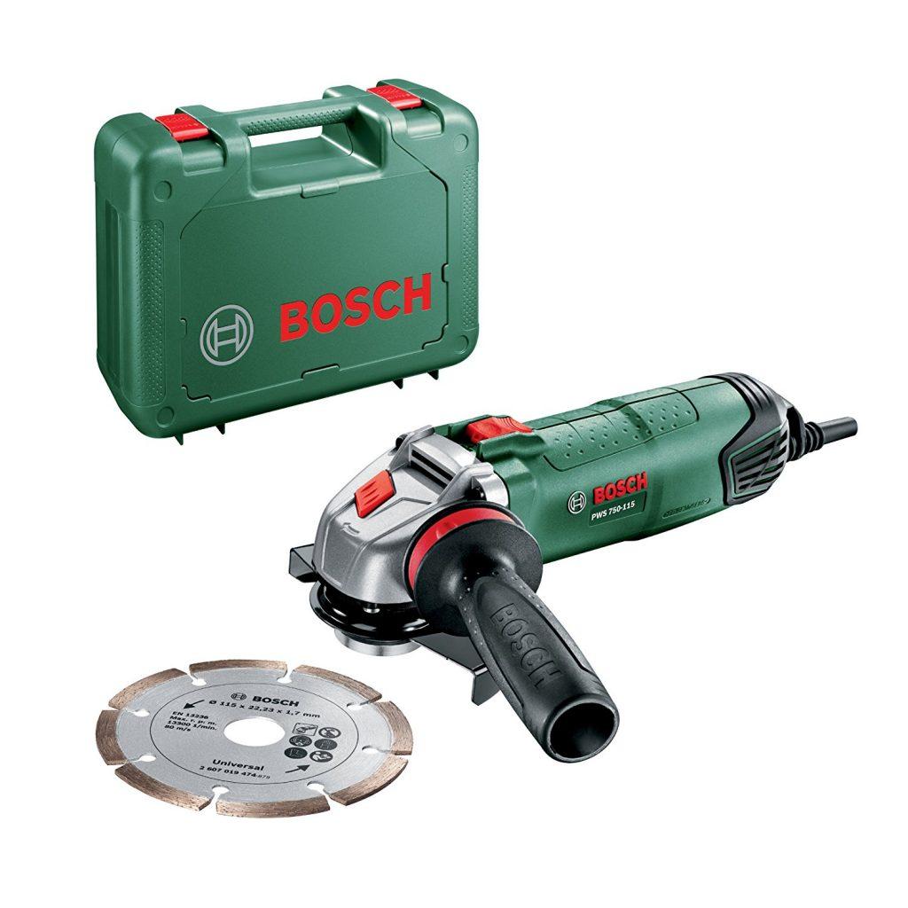 smerigliatrice angolare Bosch PWS 750-115